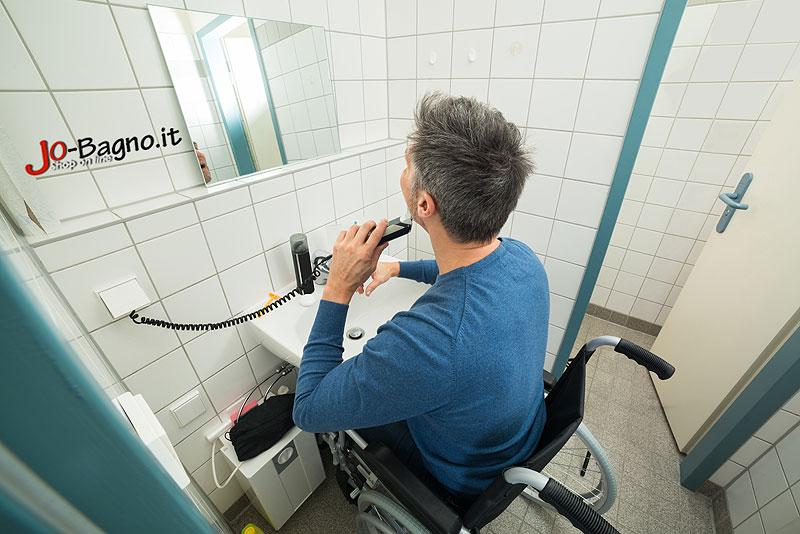 Bagno Per Disabili Misure : Bagno Per Handicappati Dimensioni: Wc ...