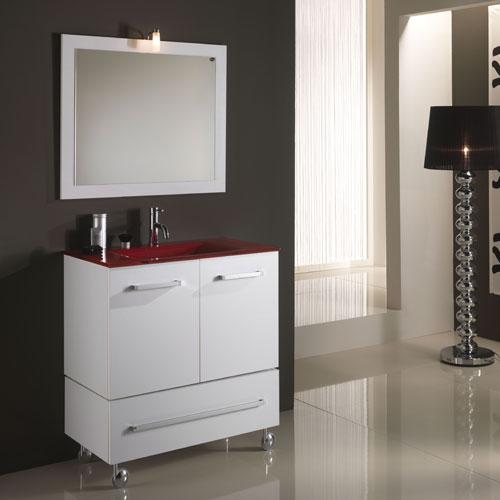 Mobili x bagno a terra design casa creativa e mobili for Mobili bagno a terra
