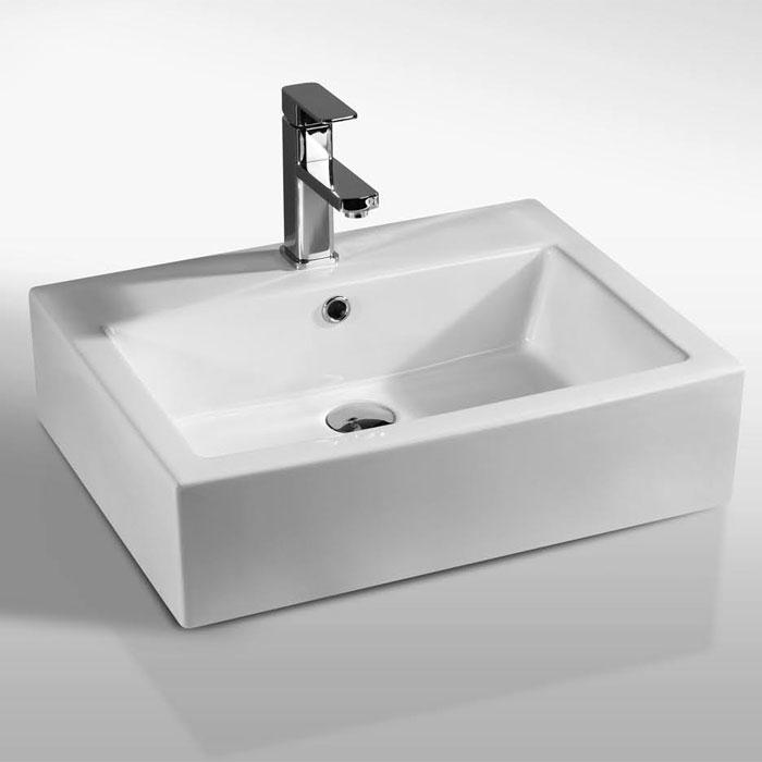 Lavabi appoggio lavabo appoggio blasa 57 - Misure lavabo bagno ...