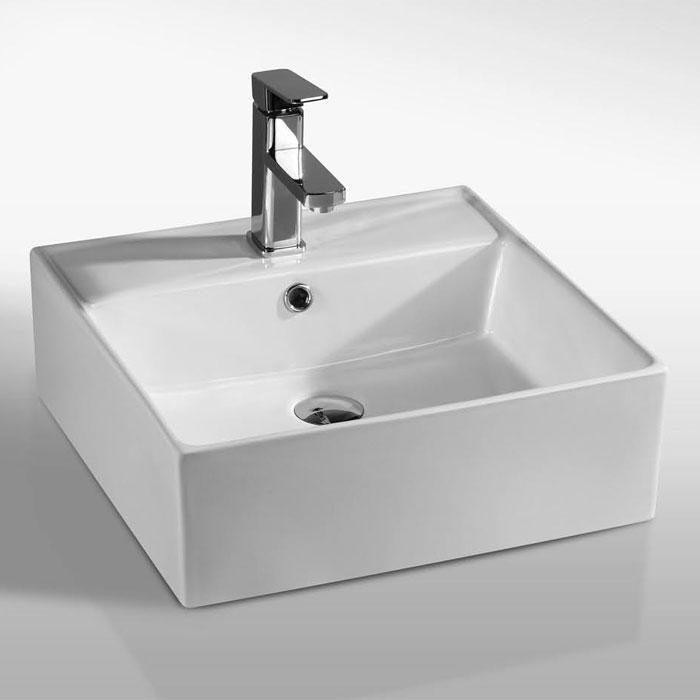 Lavabi appoggio lavabo appoggio leila 47 - Lavabo 40 cm profondita ...