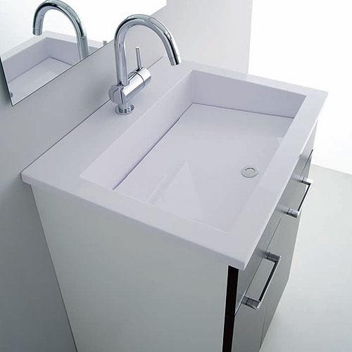 Il nuovo lavatoio 60 50 per l arredo lavanderia sanitari - Lavabo bagno resina ...