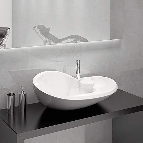 Mobili da bagno per lavabi da appoggio idee creative e - Mobili bagno lavabo appoggio ...