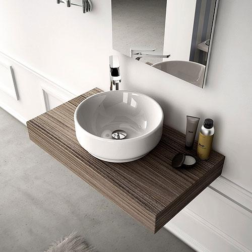 Mobili per appoggio lavabo design casa creativa e mobili for Mobile lavabo appoggio