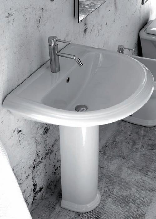 Lavabi su colonna lavabo con colonna valentina - Lavabo con colonna ...