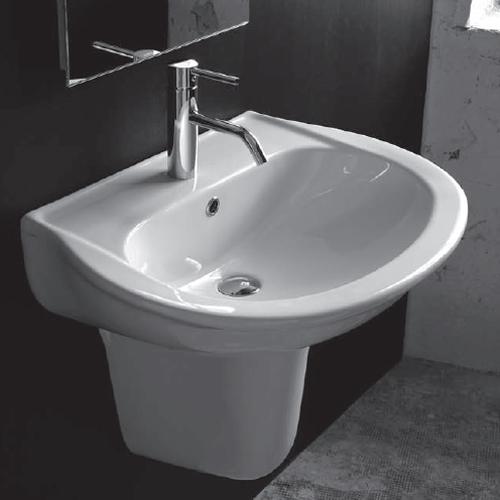 lavabi su colonna lavabo con semicolonna krio