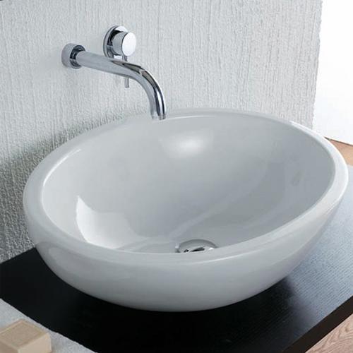 Lavabi appoggio lavabo da appoggio sfera 60 for Lavabo da appoggio misure