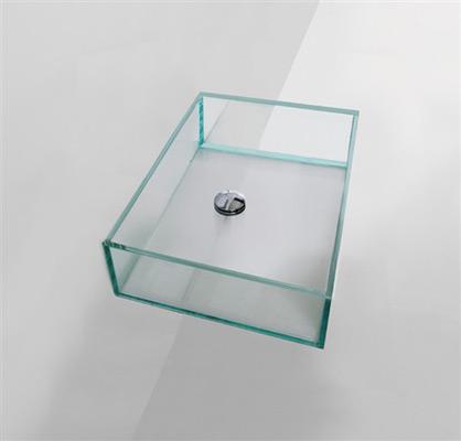 Lavabi in vetro : Lavabo in vetro 60cm