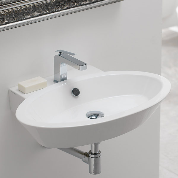 Lavandino sospeso per bagno for - Lavandino bagno sospeso ...