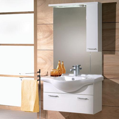 Mobili per bagno economici design casa creativa e mobili - Mobili bagno contemporanei ...