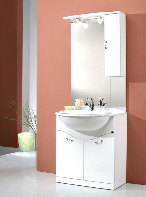 Mobili bagno onda design casa creativa e mobili ispiratori - Mobili bagno economici ...