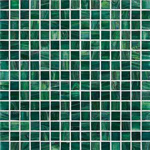 Mosaici in vetro mosaico in vetro g74 verde scuro - Mosaico vetro bagno ...