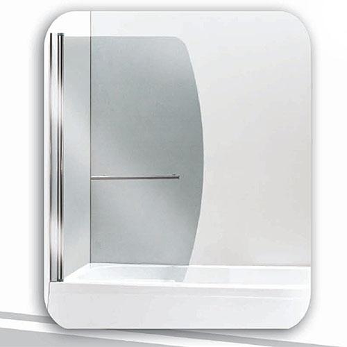 Pareti vasca parete vasca in cristallo girevole 90x140 reversibile - Pareti vasca da bagno prezzi ...