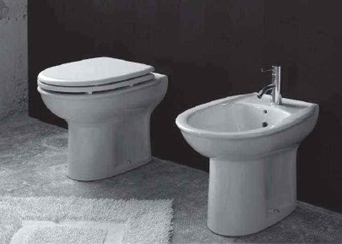 Sanitari bagno a terra sanitari bagno a terra krio - Misure sanitari bagno ...