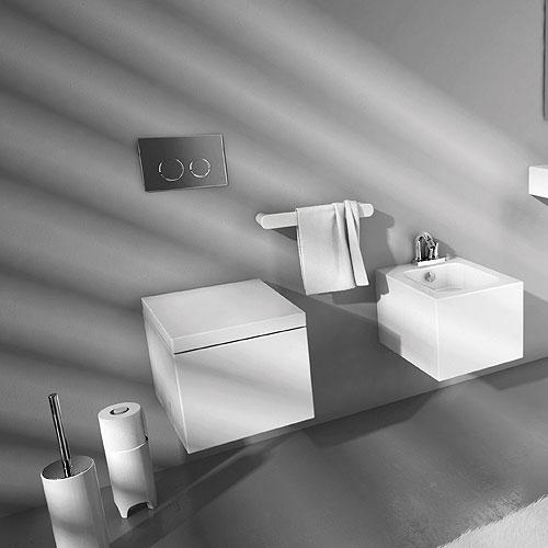 Lavabi sospesi lavabo sospeso 65 block for Produttori sanitari bagno