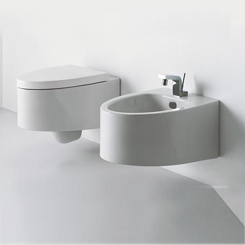 Lavabi sospesi lavabo sospeso boing 80 for Misure sanitari sospesi