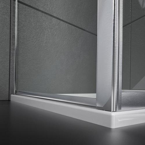 Pareti doccia lato fisso 70 per porta scorrevole slide duo - Misure porta scorrevole ...