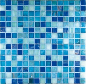 G3 Mosaico in vetro Blu Mix
