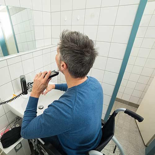Arredo bagno sanitari e lavanderia vendita on line jo - Bagno disabili normativa ...