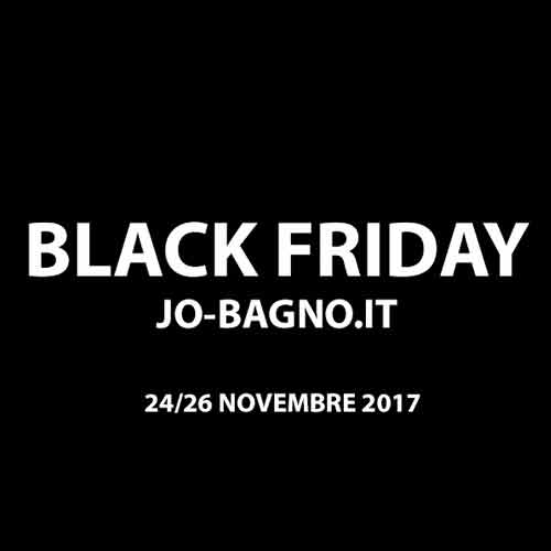 Il Black Friday arriva su Jo-Bagno.it