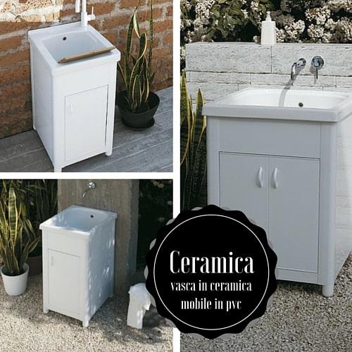 Mettiamo a paragone il lavatoio in ceramica ed in resina for Lavatoio esterno