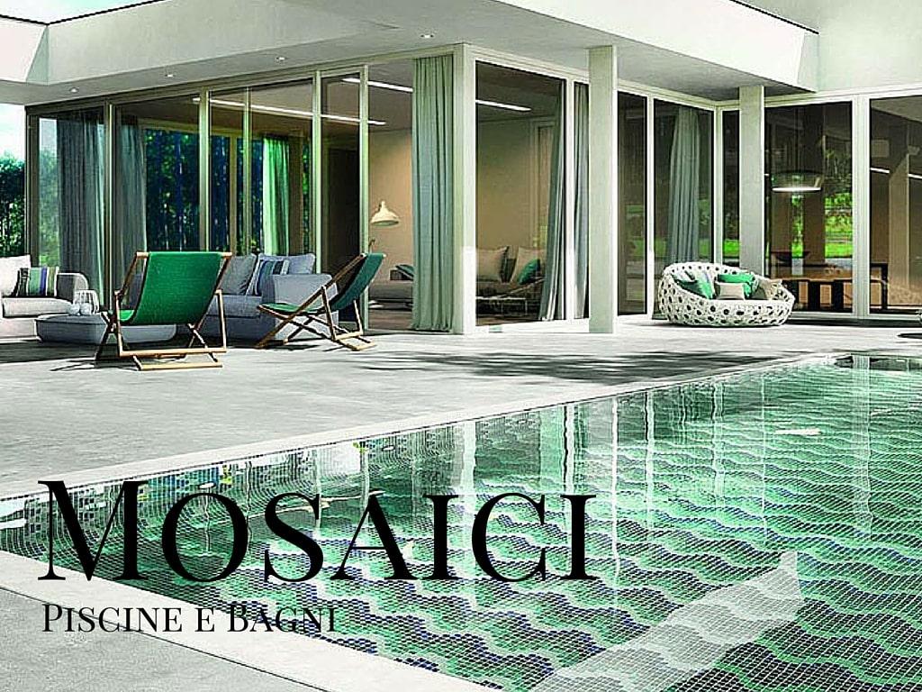 Il mosaico in vetro come rivestimento per piscine