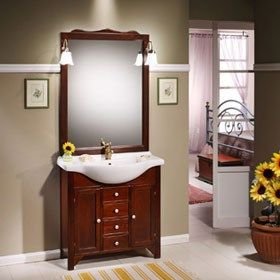 Arredo bagno mobili da bagno vendita on line jo - Mobili bagno arte povera economici ...