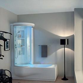 Vasche da bagno idromassaggio vendita on line jo bagno for Vasche da bagno con doccia