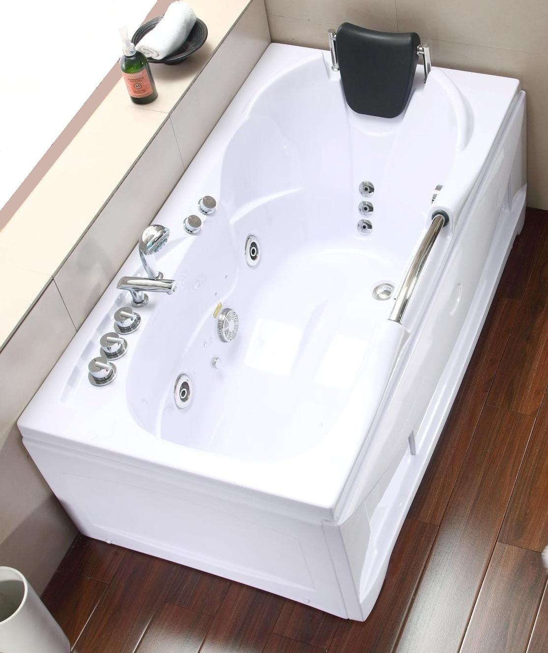 Vasche rettangolari vasca idromassaggio rettangolare michael 153x85 - Misure vasche da bagno rettangolari ...