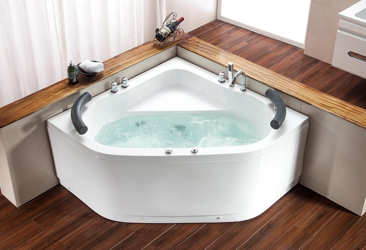 Vasche angolari vasca idromassaggio angolare 150x150 belen - Vasche da bagno rettangolari grandi ...