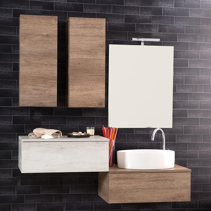Arredo e mobili bagno moderni on line jo - Arredo bagno sospeso ...