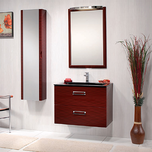Arredo Bagno Moderno : Arredo bagno Tulipano 75 Rosso