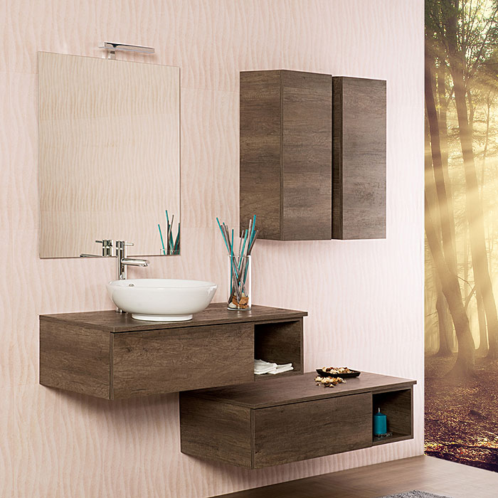 Mobili bagno in arredo bagno vendita on line - Mobili sospesi per bagno ...