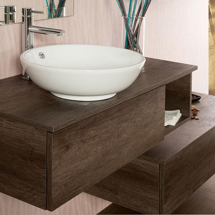 Arredo bagno moderno arredo bagno sospeso unika 100 - Arredo bagno prato ...
