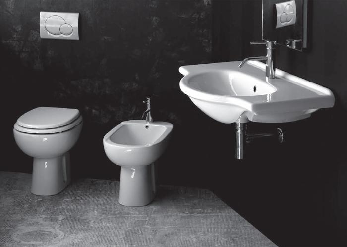 Bagno Completo: Bagno completo Alba con lavabo sospeso