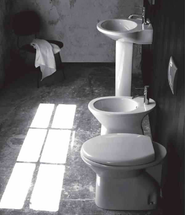 bagno completo a terra alfa ceramica