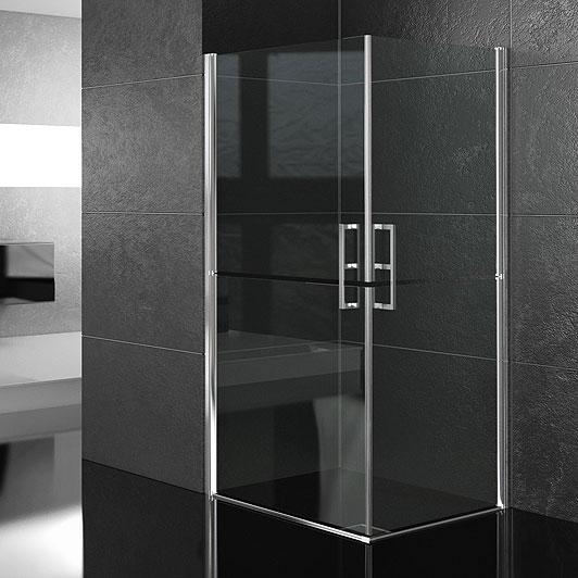 Vasche e cabine doccia : Box doccia per diversamente abili 90x90