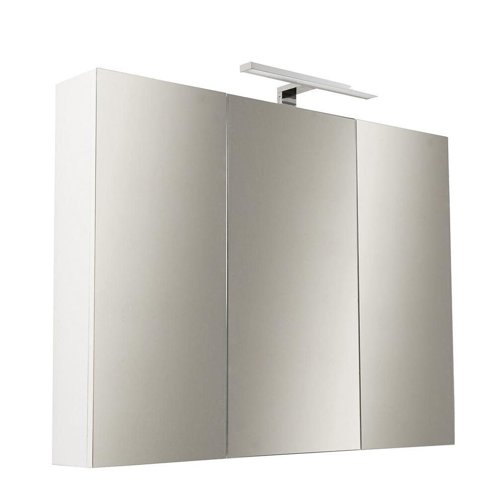 Specchio Bagno Contenitore.Specchiera Contenitore Bagno 80 Cm Con Specchio