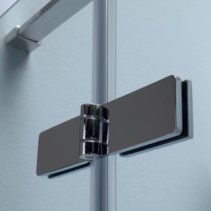 Box Doccia Nicchia: Box doccia nicchia porta battente doppia anta 8MILL INFINITY