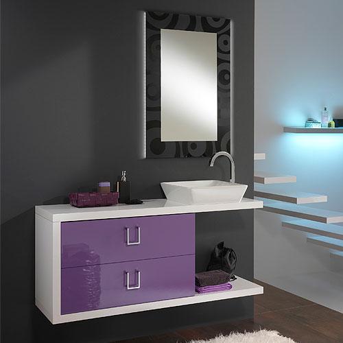 Arredo bagno moderno composizione arredo bagno moderno for Arredo bagno bianco