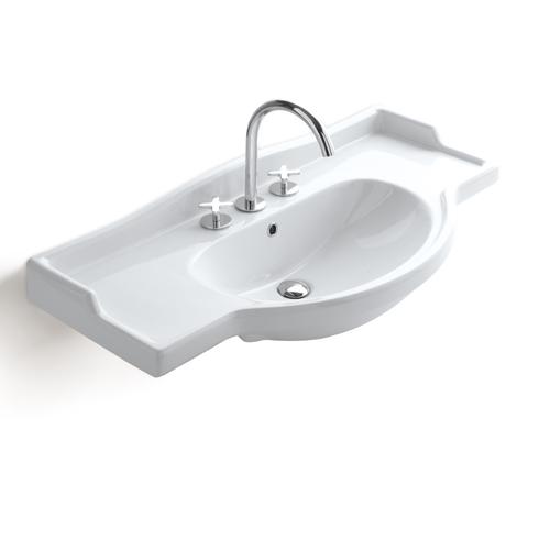 Consolle In Ceramica Per Bagno.Consolle Classic 104 Cm Sospesa