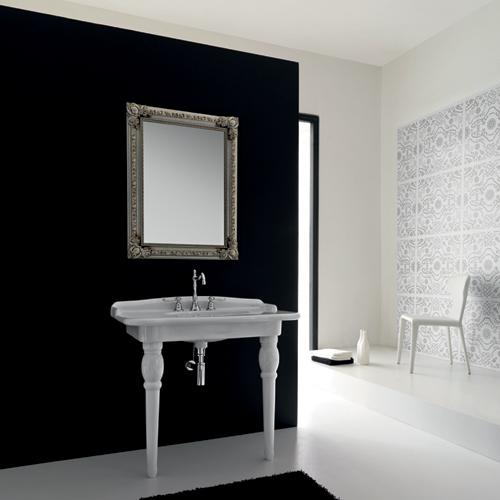 Consolle bagno classica ellade 93 hidra ceramica for Consolle bagno