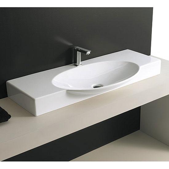 Lavabi appoggio consolle da appoggio swing 105 for Consolle bagno