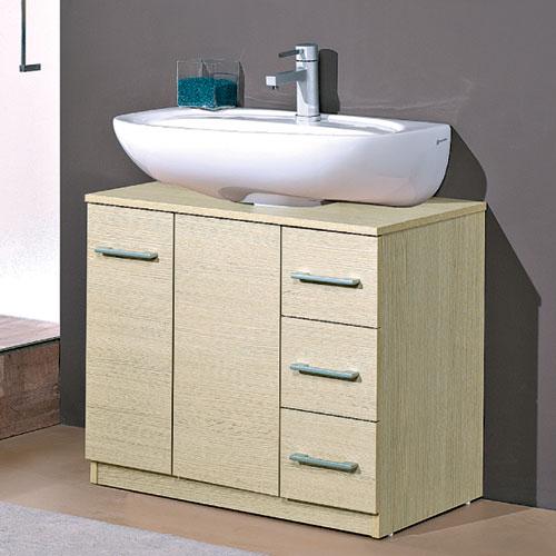 Mobili da bagno per lavabo con colonna idee creative e - Mobili a colonna per bagno ...