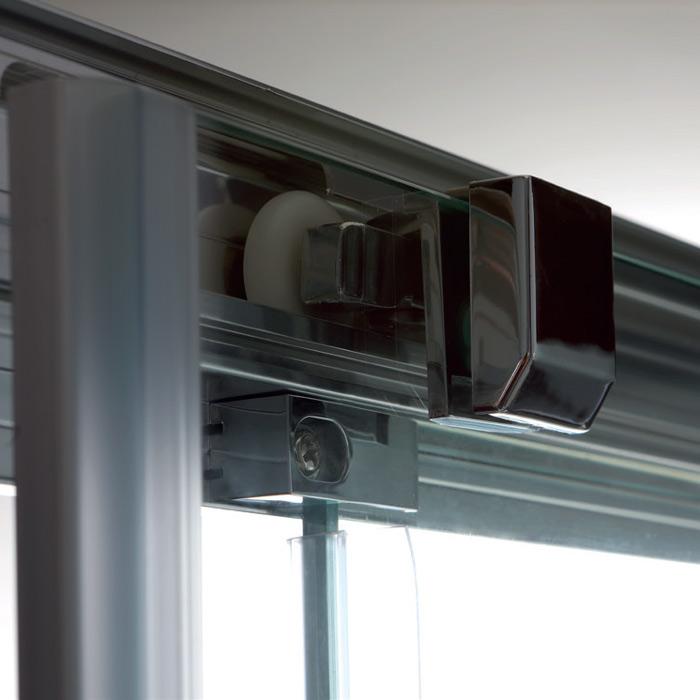 Box doccia angolari box doccia angolare porta scorrevole - Porta scorrevole bagno ...