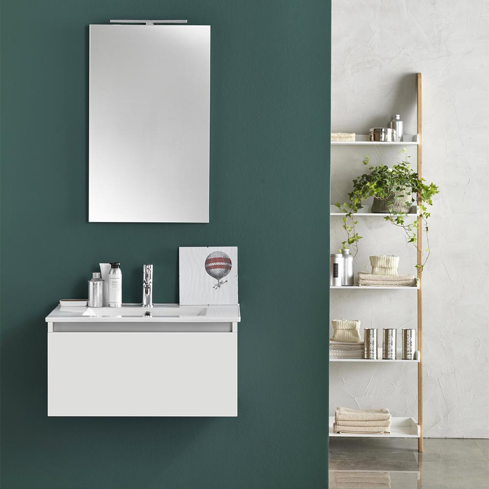 Mobile bagno moderno 70 cm ibiza offerte e prezzi on line for Tft arredo bagno