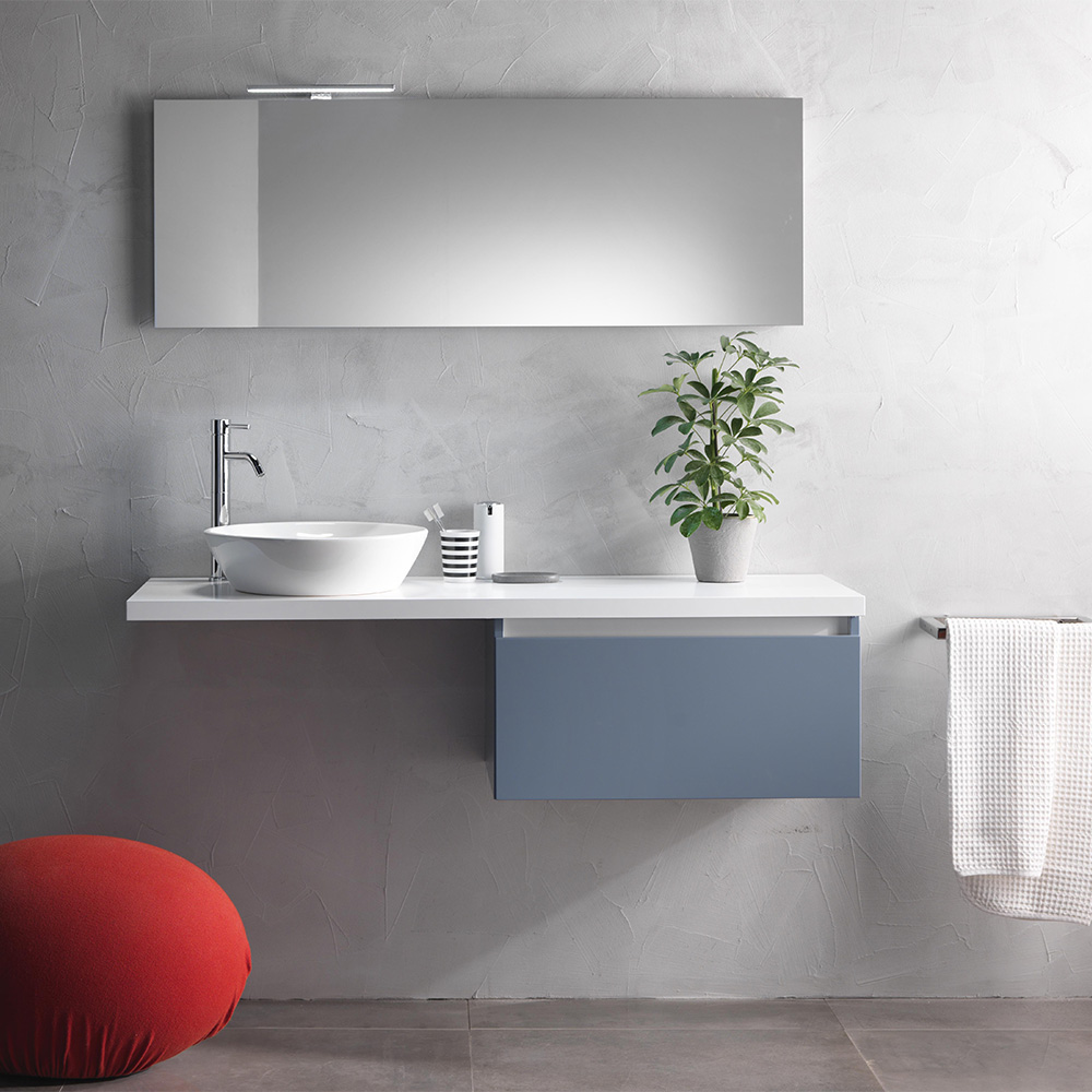 Mobile Bagno Moderno 140 Cm Ibiza Offerta On Line Tft Home Forniture