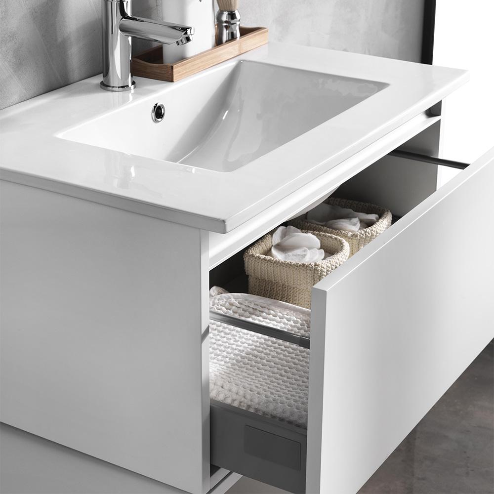 Mobile bagno moderno 160 cm ibiza offerta on line tft home forniture - Tft arredo bagno ...