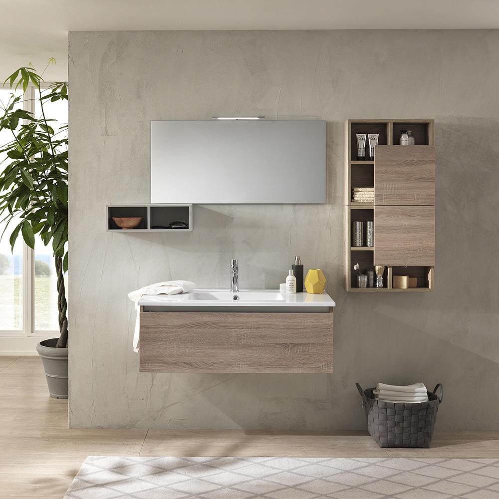 Armadietto Bagno Moderno mobile bagno moderno 180 ibiza