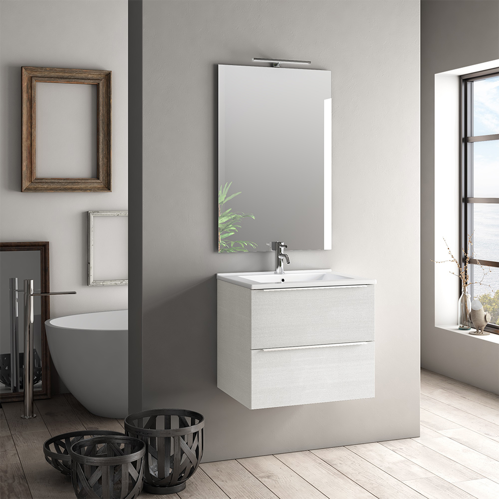 Mobile Bagno Moderno 60 cm Luna Offerta On Line | TFT Home Forniture