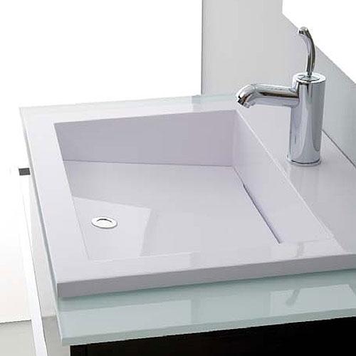 Mobili bagno : Base Lavabo 80x50 Zeus Wengè